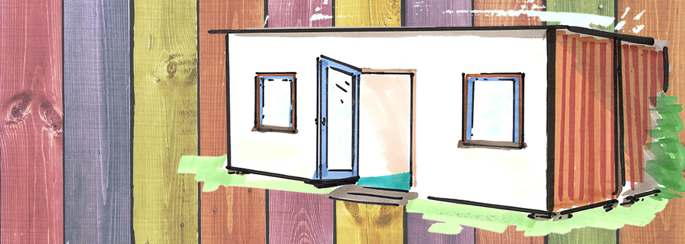 Smarte Modulgebäude in Holzbauweise