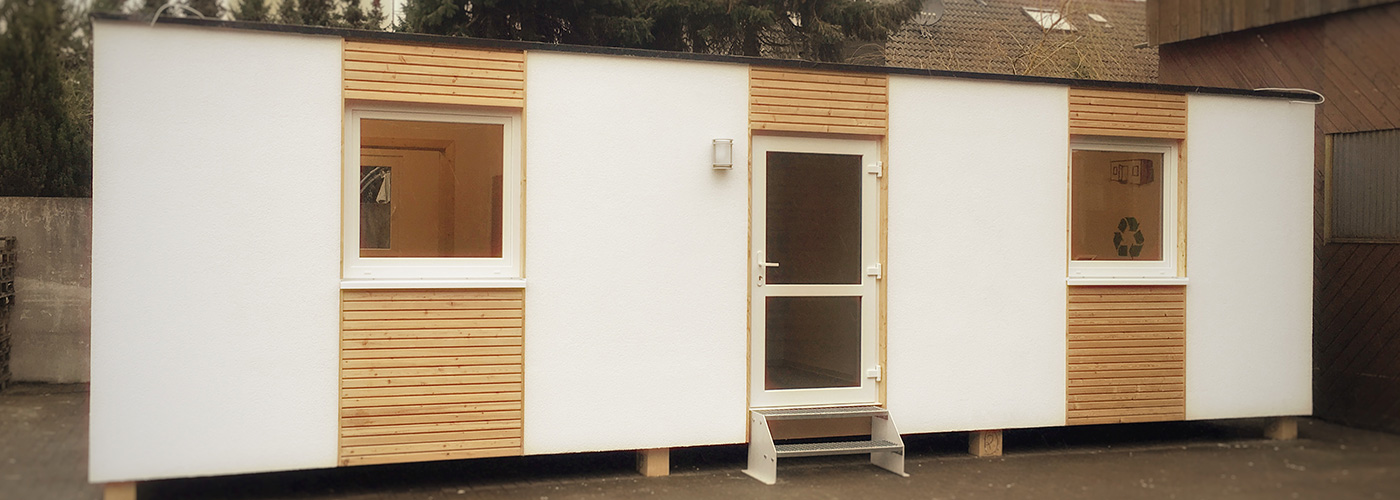Livingcon mobile wohncontainer aus holzbauweise for Mobiler wohncontainer holz