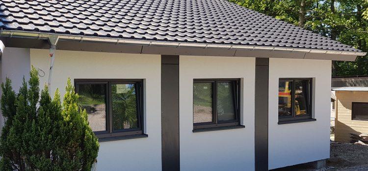 Wohnhausanbau mit drei LivingCon-Modulen