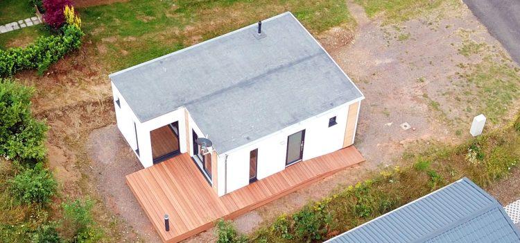 Modulgebäude für Campingplatz